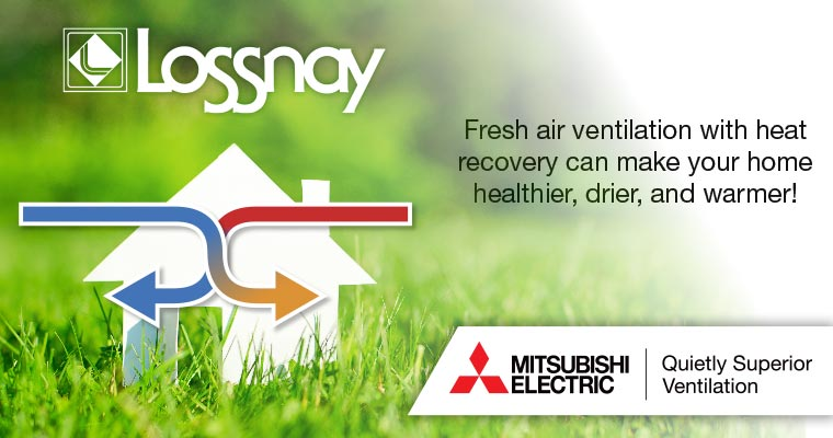 Lossnay Heat Recovery System